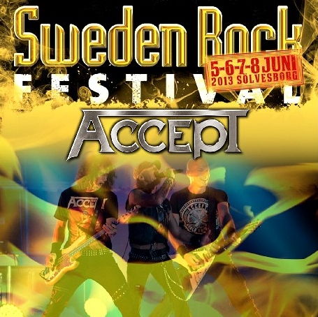 コレクターズCD アクセプト 2013年ヨーロッパツアー Sweden Rock Festival