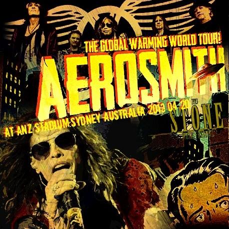 コレクターズCD エアロスミス 2013年ワールドツアー