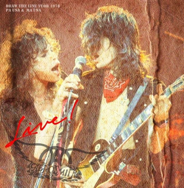 コレクターズCD AEROSMITH - Draw The Line Tuor 1978