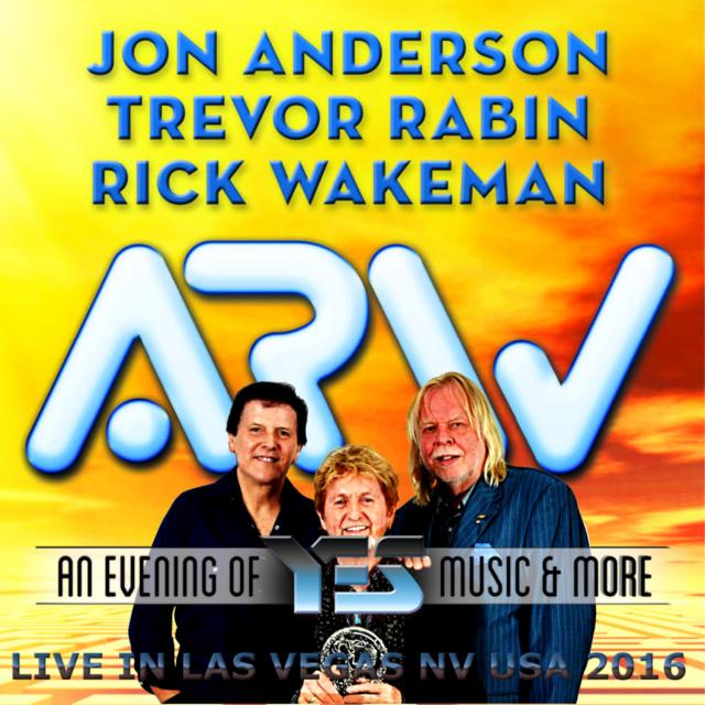 コレクターズCDAnderson, Rabin & Wakeman(ARW)の2016年アメリカツアー