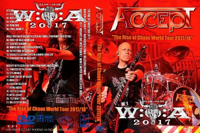 コレクターズCD アクセプト(ACCEPT)2017年European Tour