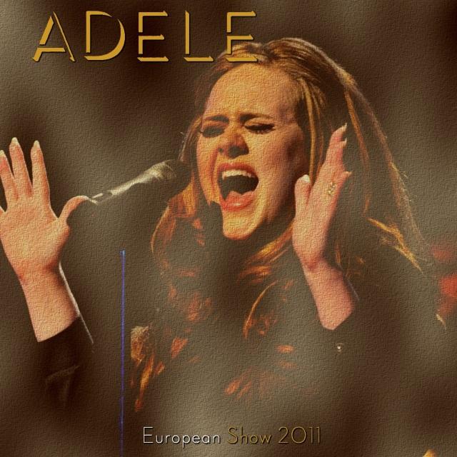 コレクターズCD Adele - European Tour 2011