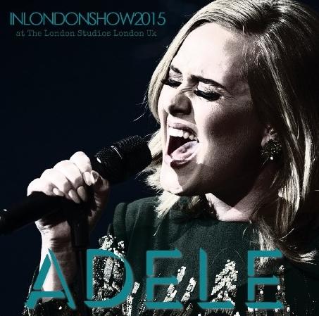 コレクターズCD アデル(Adele)2015年11月2日The London Studios London