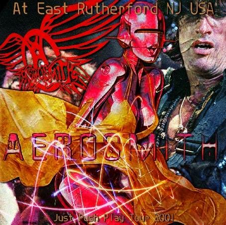 コレクターズCD エアロスミス2001年アメリカツアー(Just Push Play Tour)