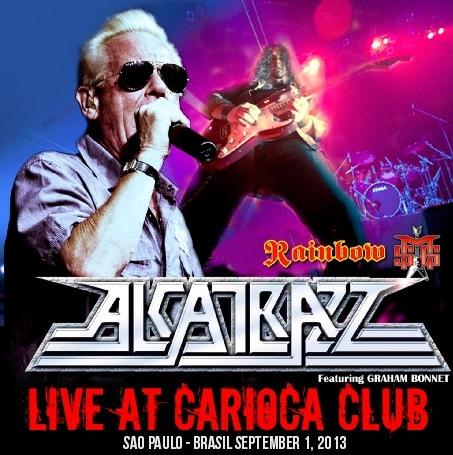 コレクターズCD Alcatrazz(アルカトラス)2013年南米公演