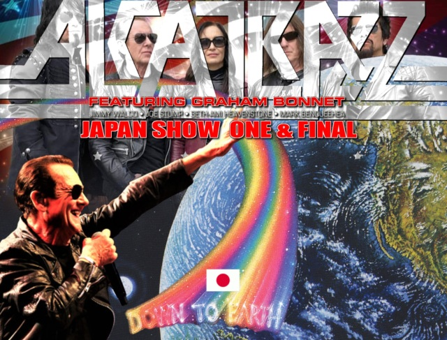 コレクターズCD Alcatrazz - Japan Tour 2019