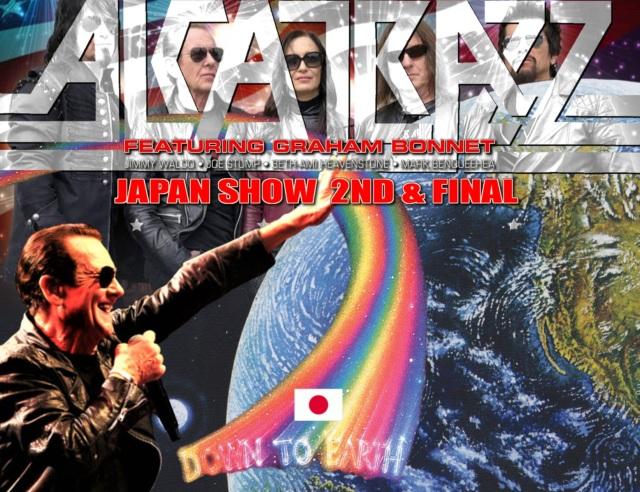 コレクターズCD Alcatrazz - Japan Tour 2019