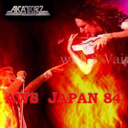 w/Steve Vai  Japan Tour84/Archaic Hall,Amagasaki, Hyogo,Japan84.10.4