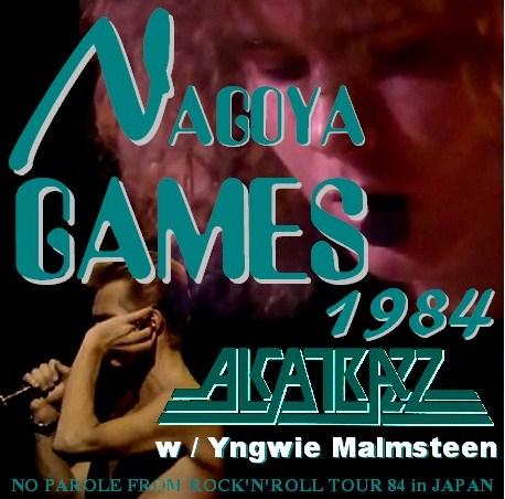 コレクターズCD Alcatrazz w/Yngwie Malmsteen (アルカトズ 1984年日本公演 名古屋)