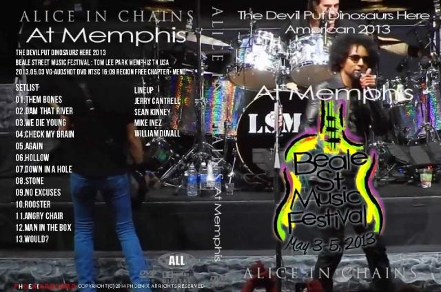 コレクターズDVD   アリス・イン・チェインズ (Alice in Chains) 2013年アメリカツアー