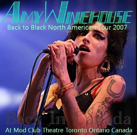 コレクターズCD エイミー・ワインハウス(Amy Winehouse)2007年北米公演 カナダ