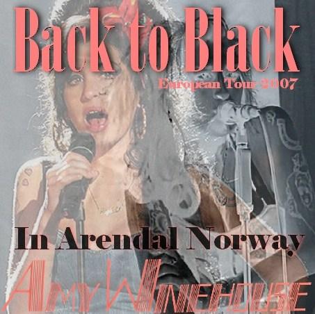 コレクターズCD エイミー・ワインハウス(Amy Winehouse)2007年ヨーロッパツアー