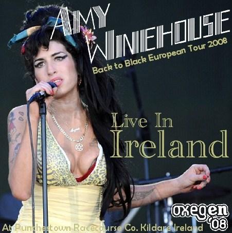 コレクターズCD エイミー・ワインハウス(Amy Winehouse)2008年ヨーロッパツアー
