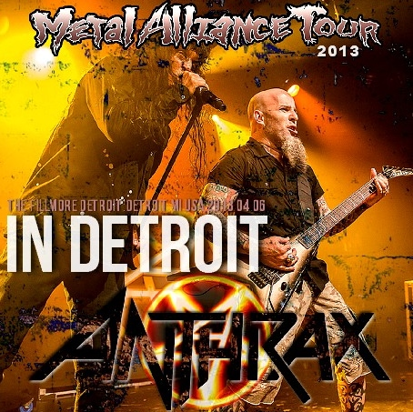 コレクターズCD アンスラックス(Anthrax)2013年アメリカツアー