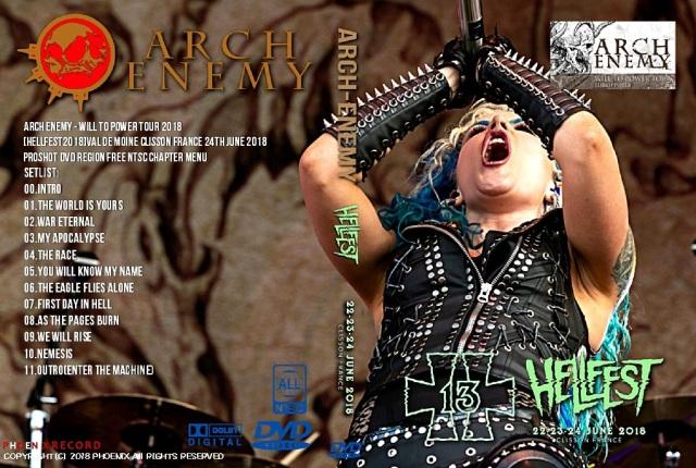 コレクターズDVD Arch Enemy - Will To Power Tour 2018