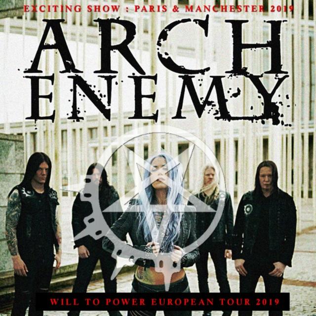 コレクターズCD Arch Enemy - Will To Power European Tour 2019