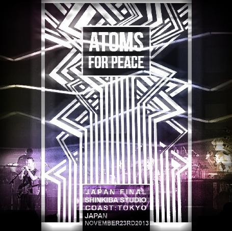 コレクターズCD アトムス・フォー・ピース (Atoms For Peace) 2013年日本公演 東京