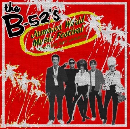 コレクターズCD The B-52's(ビー・フィフティートゥーズ) 1982年 ジャマイカ
