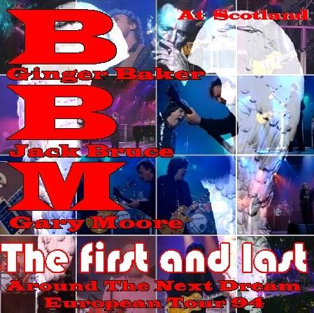 コレクターズCD ゲイリー・ムーアw/BBM(Baker-Bruce-Moore)94年 ヨーロッパツアーScotland