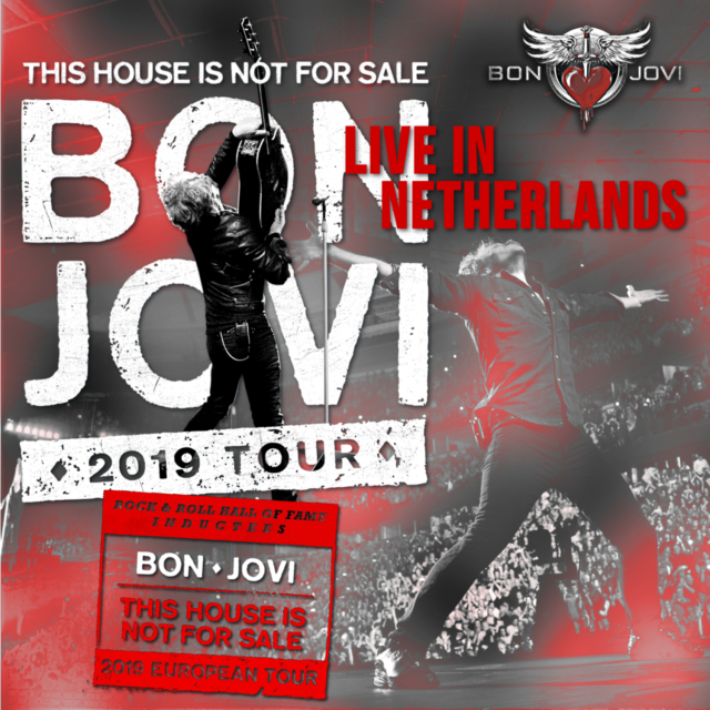 コレクターズCD BON JOVI - This House Is Not for Sale Tour 2019