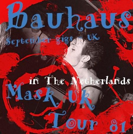 コレクターズCD Bauhaus (バウハウス) 81年ヨーロッパツアー