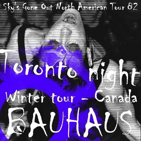 コレクターズCD Bauhaus (バウハウス) 82年北米ツアー