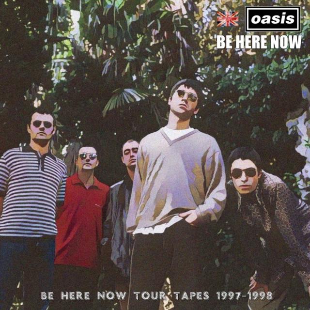 コレクターズCD OASIS -Be Here Now Tour tapes 1997&98