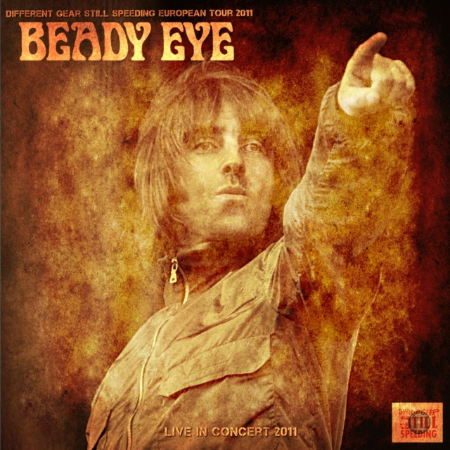 コレクターズCD Beady Eye - Different Gear Still Speeding European Tour 2011