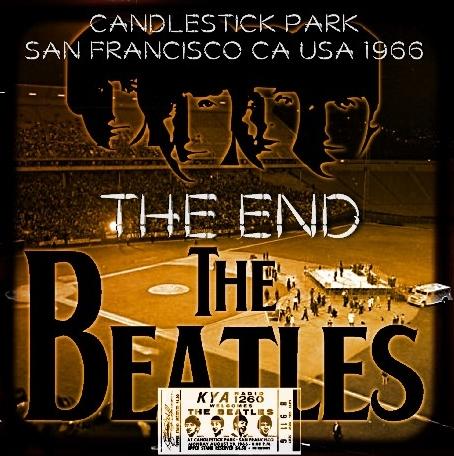 コレクターズCD ザ・ビートルズ(The Beatles)1966年8月29日ラストライブ Candlestick Park
