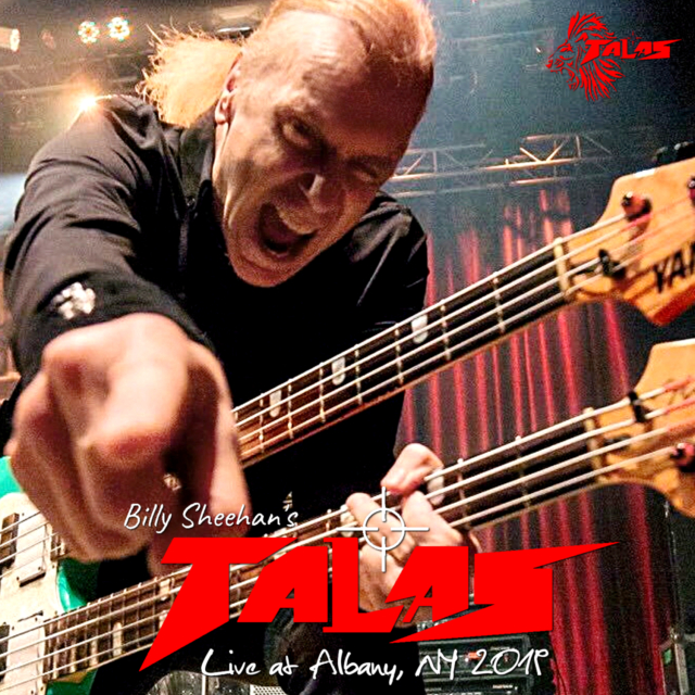 コレクターズCD Billy Sheehan's Talas - US Tour 2019