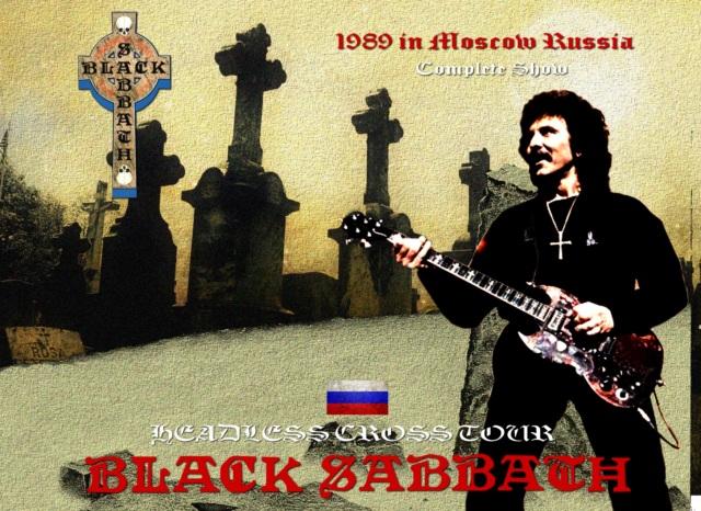 コレクターズCD Black Sabbath - Headless Cross Tour 1989 in Moscow Russia