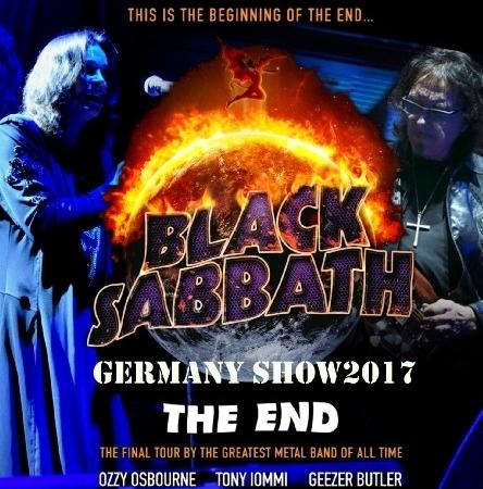 コレクターズCD ブラックサバス 2017年ヨーロッパツアー (The End Tour 2017)