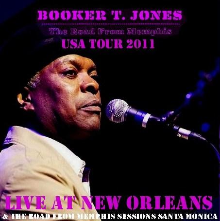 コレクターズCD Bokker T Jones(ブッカー・T.ジョーンズ)2011アメリカツアー