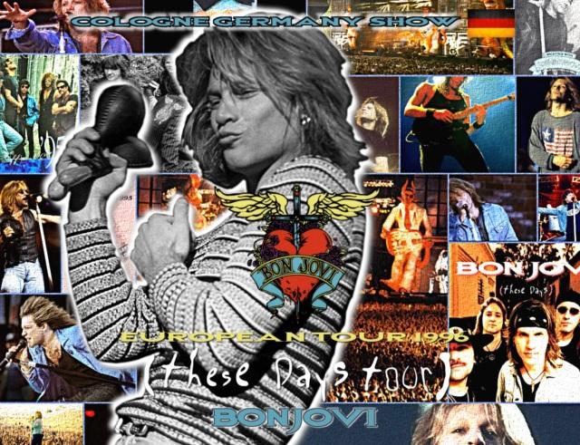コレクターズCD Bon Jovi - These Days European Tour 1996