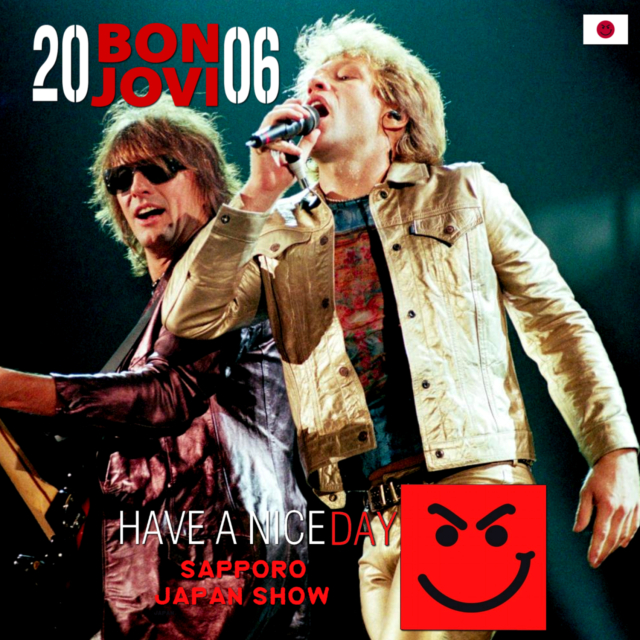 コレクターズCD Bon Jovi - Have A Nice Day Japan Tour 2006 Final