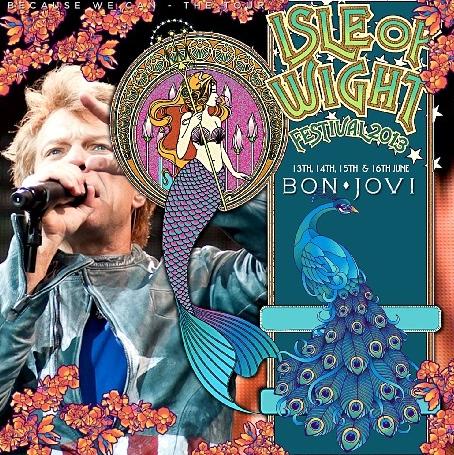 コレクターズCD ボン・ジョヴィ 2013年 ヨーロッパツアー Isle Of Wight