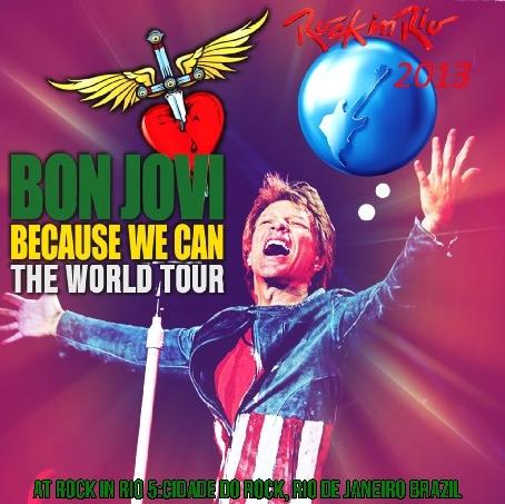 コレクターズCD ボン・ジョヴィ 2013年南米ツアー(Rock In Rio)