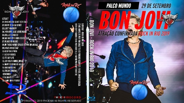コレクターズBlu-ray Bon Jovi - Rock in Rio 2019