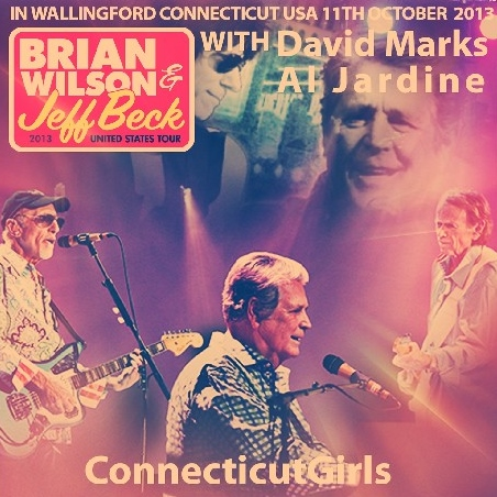 コレクターズCD ブライアン・ウィルソン(Brian  Wilson)  2013 Tour With Jeff Beck, Al Jardine and David Marks
