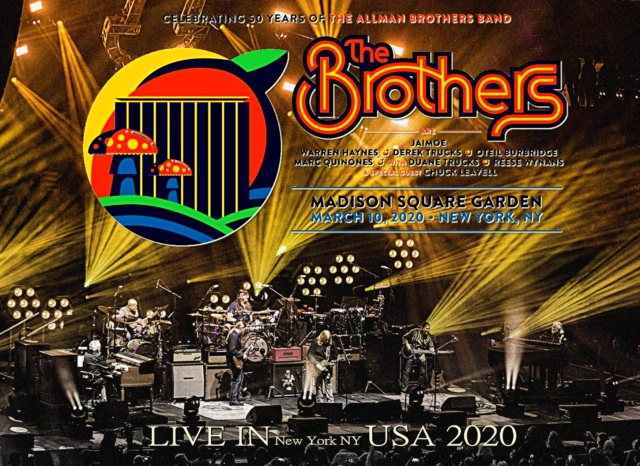 コレクターズCD The Brothers - celebrating 50 Years of the Allman Brothers Band At New York 2020