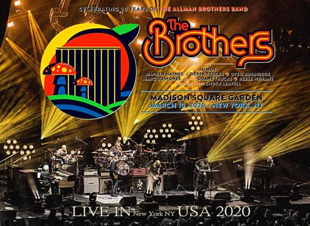 コレクターズCD The Brothers - celebrating 50 Years of the Allman Brothers Band At New York 2020