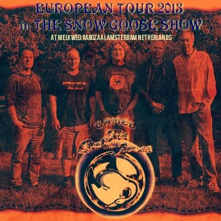 コレクターズCD キャメル 2013年 ヨーロッパツアー
