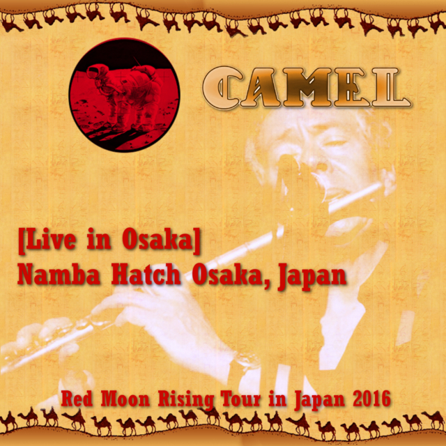 コレクターズCD Camel - Red Moon Rising Jaoan Tour 2016