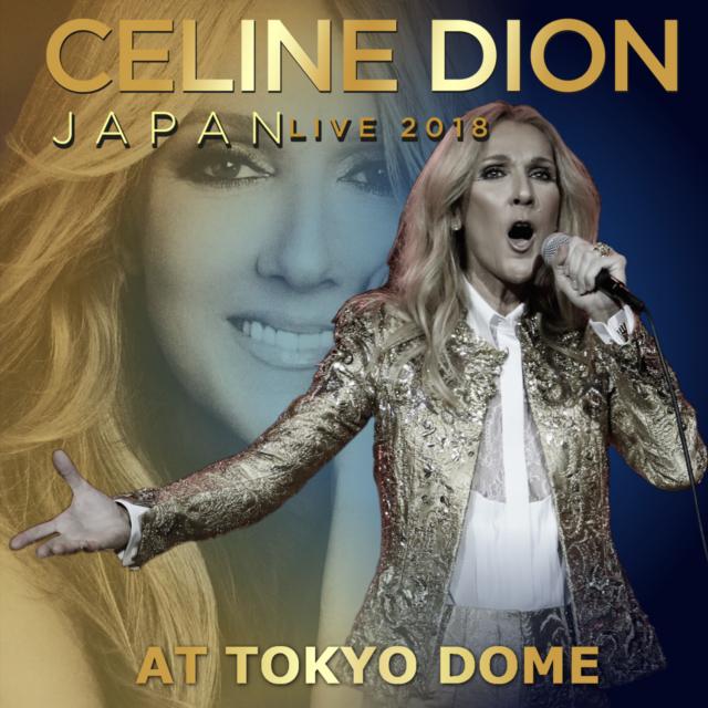 コレクターズCD Celine Dion - Japan Show 2018