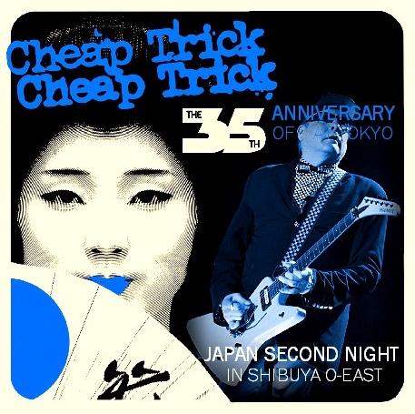 コレクターズCD Cheap Trick (チープトリック)2013年日本公演