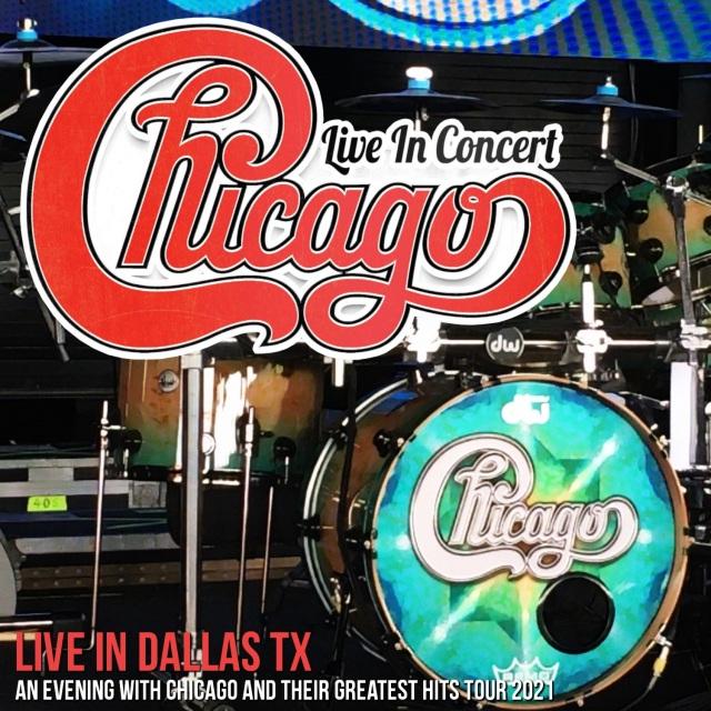 """コレクターズCD Chicago -  """"An Evening with Chicago and their Greatest Hits"""" Tour 2021"""