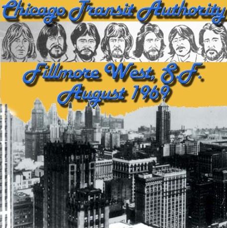 シカゴ デビュー直後69年 Fillmore /Fillmore West San Francisco, CA.1969.