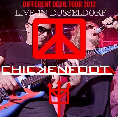 コレクターズCD Chickenfoot(チキンフット)2012年 ヨーロッパ公演 DIFFERENT DEVIL TOUR 2012