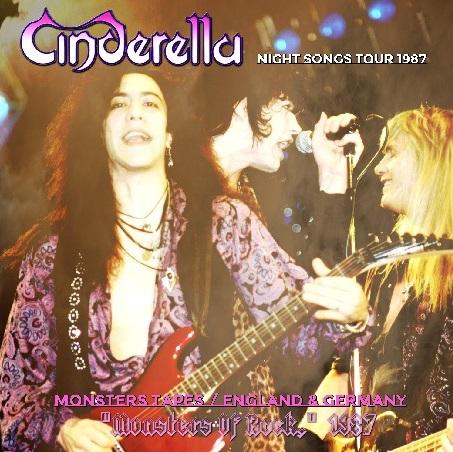 コレクターズCD Cinderella - Night Songs Tour 1987 in [Monsters Of Rock]