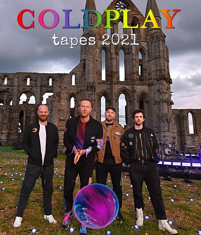 コレクターズBlu-ray  Coldplay - tapes 2021